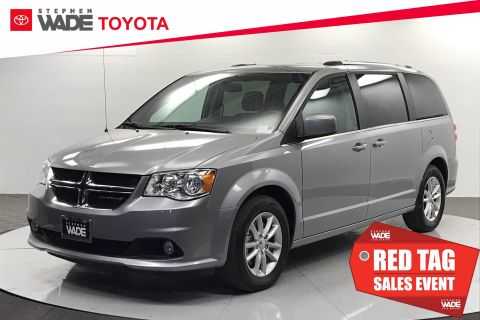 Pre-Owned 2018 Dodge Grand Caravan SXT FWD Mini-van, Passenger