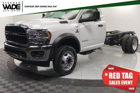 New 2020 RAM 5500 Chassis Cab Tradesman 4x2 Regular Cab
