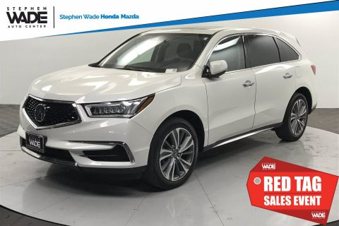 Pre-Owned 2017 Acura MDX w/Technology Pkg AWD Sport Utility